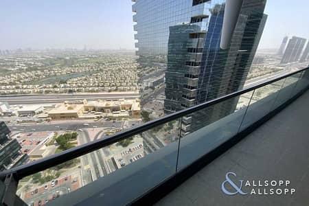 فلیٹ 2 غرفة نوم للبيع في أبراج بحيرات الجميرا، دبي - Vacant | 2Bed | High Floor | Large Balcony