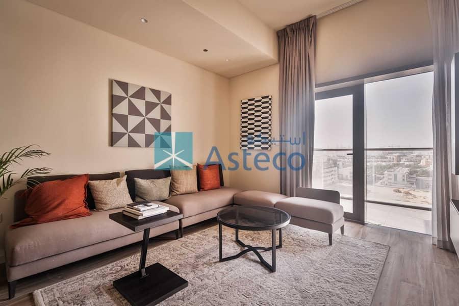 2 Spacious Studio Apartment with Modular Kitchen