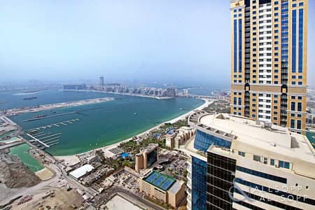 شقة 2 غرفة نوم للايجار في دبي مارينا، دبي - 2 Bedrooms | Sea View | 4 Cheques | Vacant