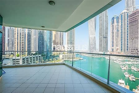3 Bedroom Flat for Sale in Dubai Marina, Dubai - Exclusive | Full Marina View | Vacant Soon