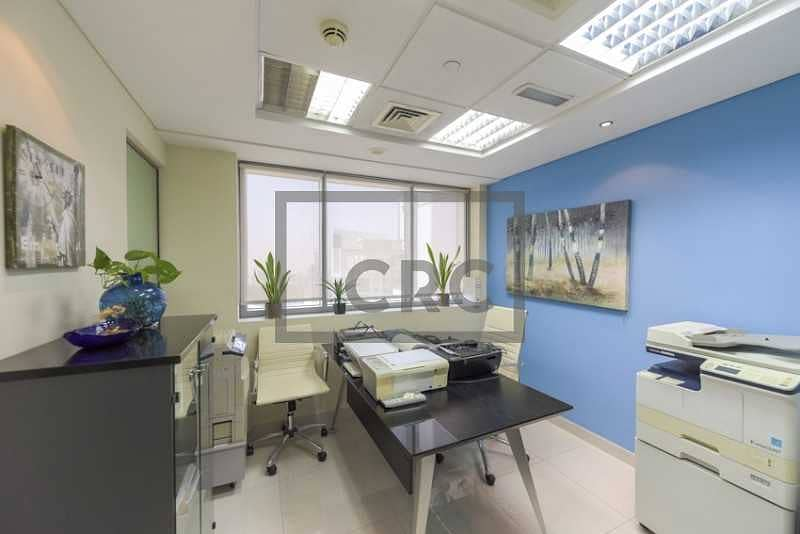 Fitted & Furnished Office   4 Parking Spaces