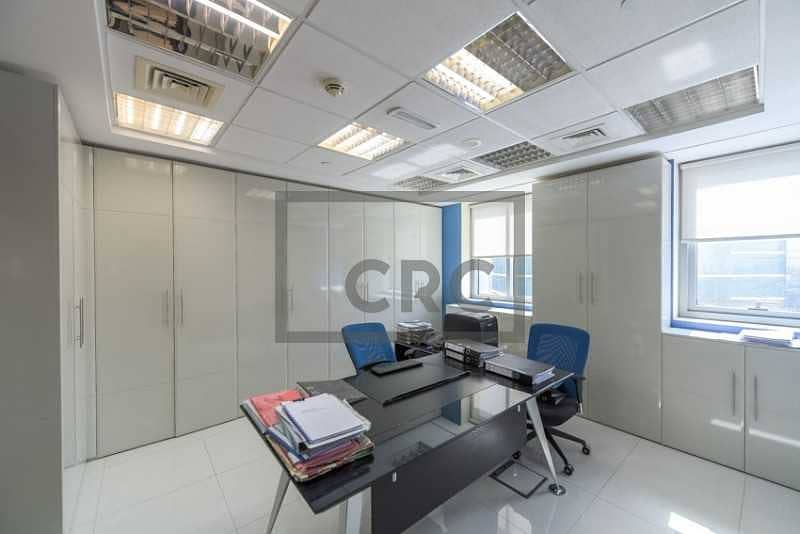 2 Fitted & Furnished Office   4 Parking Spaces