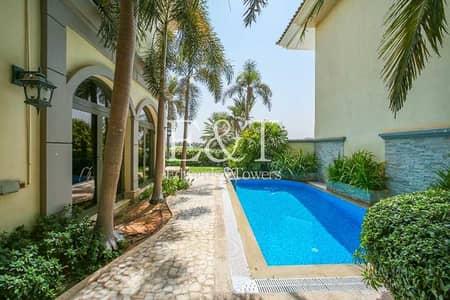 فیلا 4 غرف نوم للايجار في نخلة جميرا، دبي - EXCLUSIVE! Very high No. +100 Atrium Entry