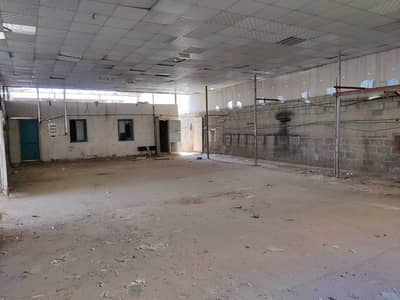Industrial Land for Rent in Industrial Area, Sharjah - 6500 Sqft Open Yard 3 Phase Power Office +2 Room Boundary Wall In Industrial Area 6 Sharjah