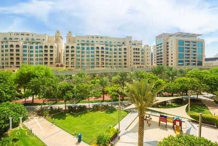 فلیٹ 3 غرف نوم للايجار في نخلة جميرا، دبي - Available September | Furnished | Park View