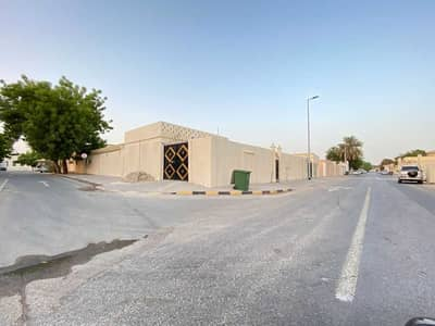 Annex for rent in Ajman, Al Hamidiya area, ground floor, with electricity yard, 7.5 fils, completely isolated