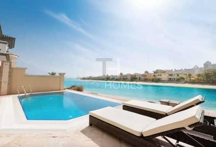 4 Bedroom Villa for Sale in Palm Jumeirah, Dubai - Beautiful Garden Home|Beach Access| Pool