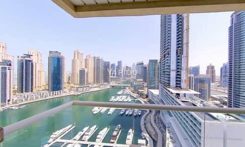 فلیٹ 3 غرف نوم للبيع في دبي مارينا، دبي - Exclusively Presented   Full Upgraded   Marina Views