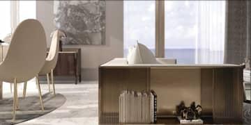 شقة في جراند بلو تاور1 لإيلي صعب إعمار الواجهة المائية دبي هاربور 2 غرف 2906888 درهم - 5358487