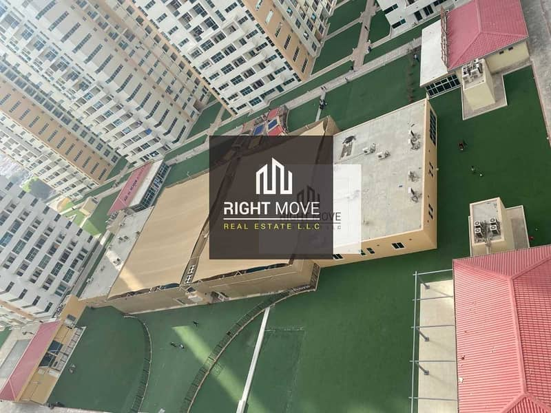 2 bedroom with parking for rent in Ajman One Towers