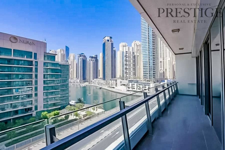 Marina Views | Two Bedroom | Unfurnished