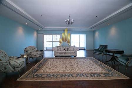 فلیٹ 3 غرف نوم للبيع في دبي مارينا، دبي - Sea & Marina View | Upgraded large Apt