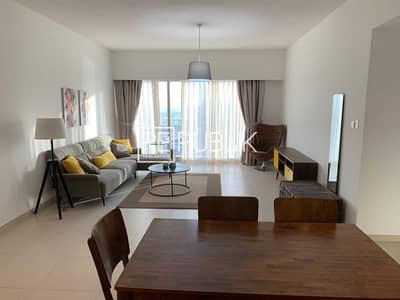 2 Bedroom Apartment for Rent in Al Reem Island, Abu Dhabi - Elegant Fully Furnished 2BR w/ Canal and Pool View