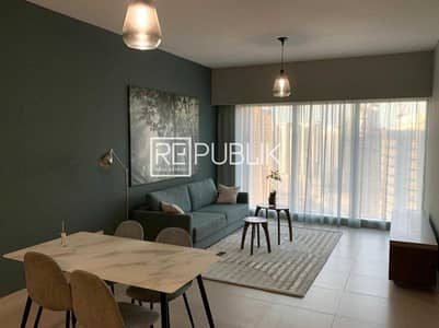 1 Bedroom Flat for Rent in Al Reem Island, Abu Dhabi - Excellent 1BR Fully Furnished w/ Sea and Pool View