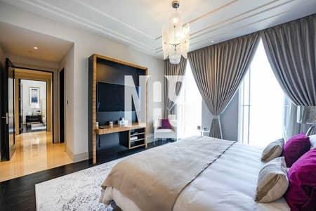 2 Bedroom Apartment for Rent in Al Maryah Island, Abu Dhabi - Luxury 5 Stars Duplex Apartment   Four Season Hotel .