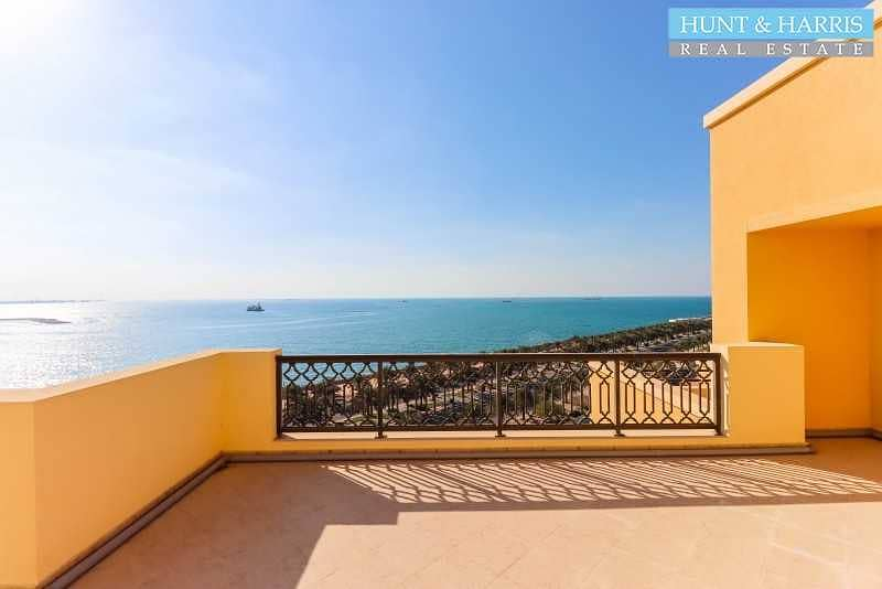 2 Sea View - Furnished - With Maid's Room