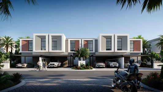 4 Bedroom Townhouse for Sale in Al Furjan, Dubai - Twin Villa at Tilal Al Ghaf - Aura Gardens - 60/40 Payment Plan