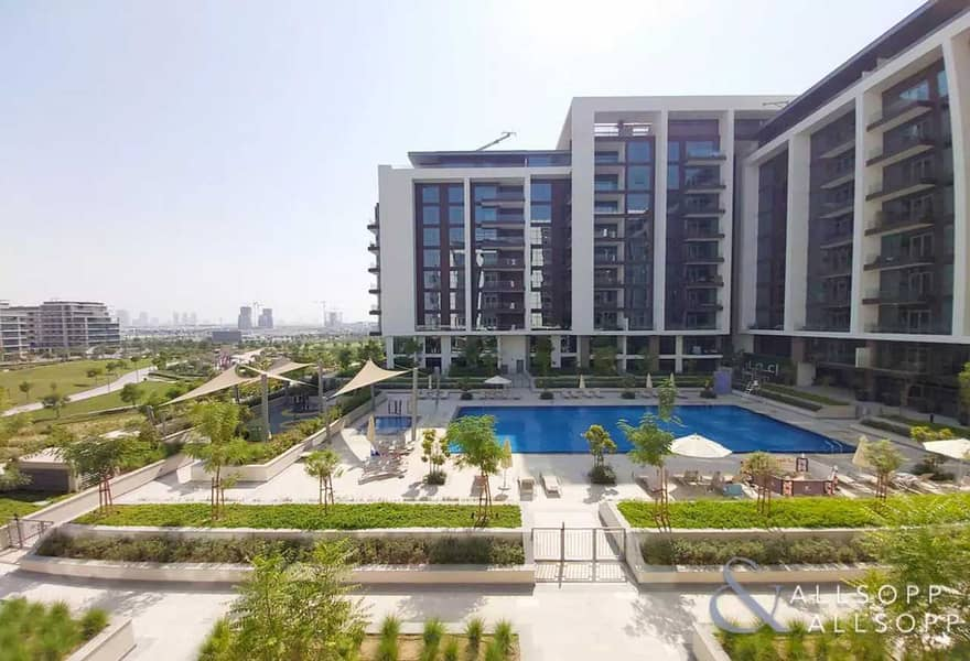 Full Pool And Park View | 3 Bedroom + Maid