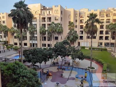 فلیٹ 1 غرفة نوم للايجار في الممزر، دبي - Courtyard View   Spacious   Balcony   Parking