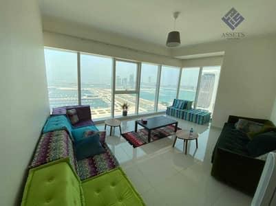 فلیٹ 2 غرفة نوم للايجار في دبي مارينا، دبي - Sea Views | Premium Finish | Well-Maintained