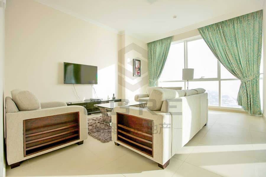 2 Beautiful 2BR+maid | Sea View | JBR for Rent
