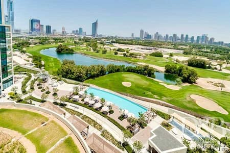2 Bedroom Flat for Sale in The Hills, Dubai - GOLF VIEW | FULLY SERVICED | RENTED