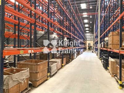 مستودع  للايجار في جبل علي، دبي - Roadside location | Vacant Neighbour Plot for Expansion