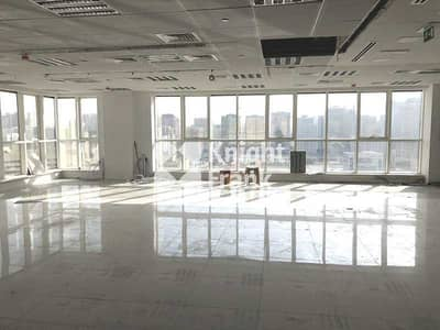 مکتب  للايجار في شارع السلام، أبوظبي - Cat A Office Space for Lease in Salam Street