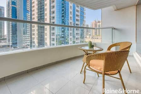 1 Bedroom Apartment for Sale in Jumeirah Lake Towers (JLT), Dubai - Big One Bed | Close to Metro | Closed Kitchen