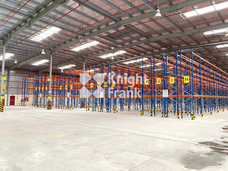 Double Deep Racking System   10m Eaves Height