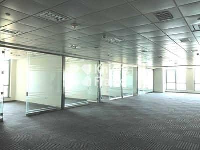 مکتب  للايجار في شارع الكورنيش، أبوظبي - Seaview / Fitted Office Space / Corniche