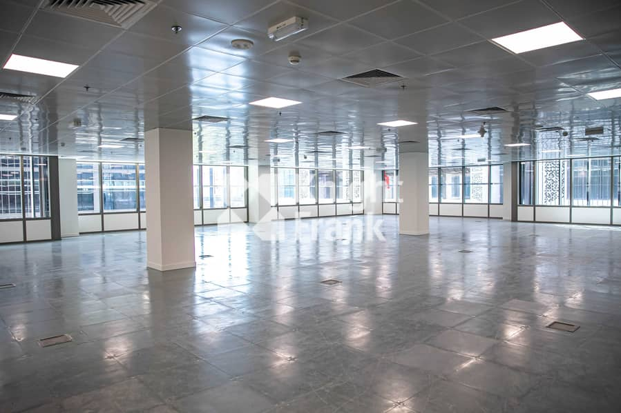 Options of Shell & Core Office or Fitted Offices