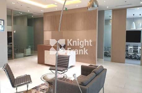 مکتب  للايجار في مركز دبي المالي العالمي، دبي - Grade A Tower | CAT A Fitted | Fully Furnished