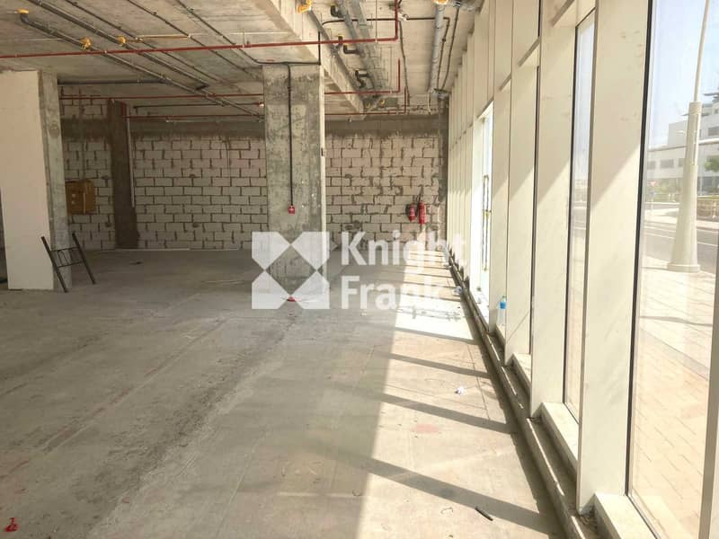 Shell & Core Retail Space in Shams District