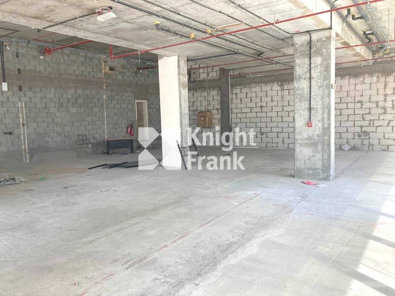 2 Shell & Core Retail Space in Shams District