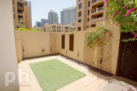 1 Bedroom Flat for Rent in Old Town, Dubai - Groundfloor | Landscaped | Large 1 bed