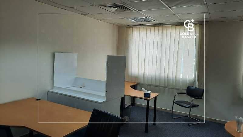 2 Office fitted  Prime Location   Sheikh Zayed Road