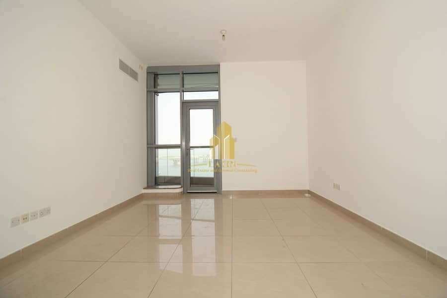 2 1 BR apartment with sea view  & storage areas   Clean finishes & relaxing view!
