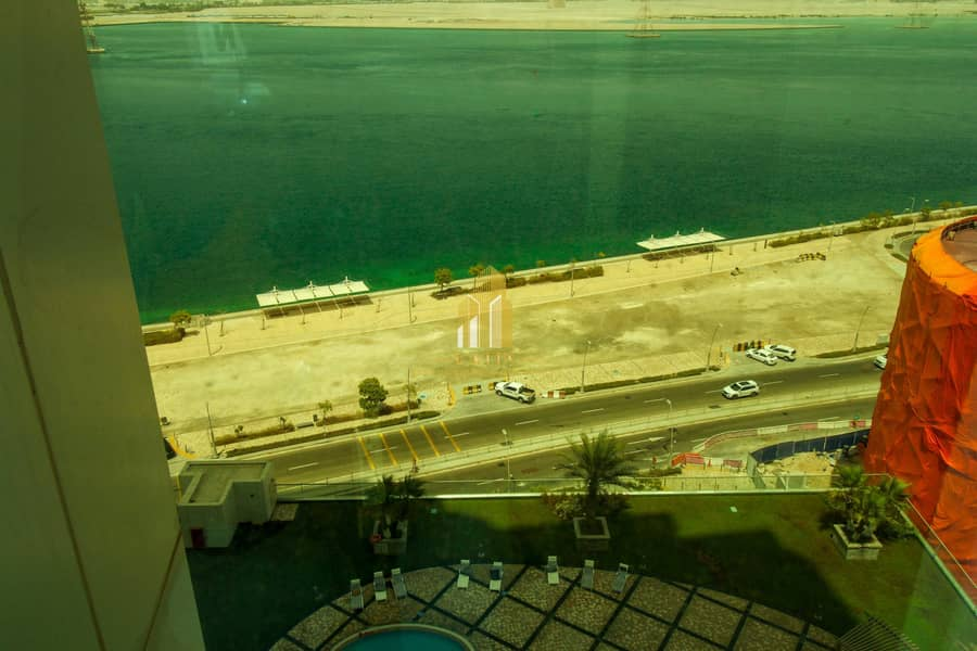 17 1 BR apartment with sea view  & storage areas   Clean finishes & relaxing view!