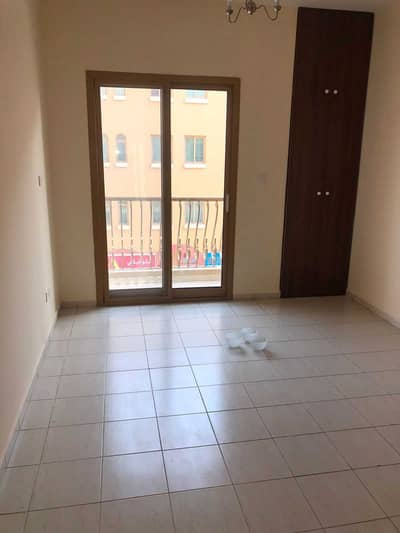 1 Bedroom Apartment for Rent in International City, Dubai - SPAIN Cluster Building S   Family Building   Available 1 Bedroom with Balcony   For rent