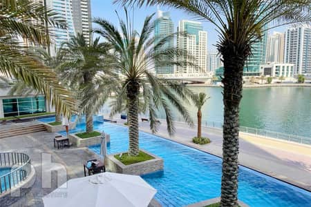 1 Bedroom Flat for Rent in Dubai Marina, Dubai - 1 Bed   Chiller Free   Sea View