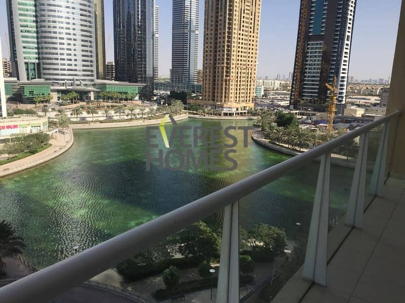 9 1 Bed with Full Lake View - 2 Balconies in Lake View Tower JLT