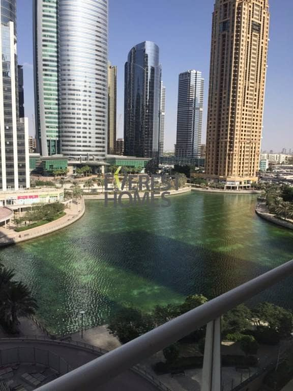 8 1 Bed with Full Lake View - 2 Balconies in Lake View Tower JLT