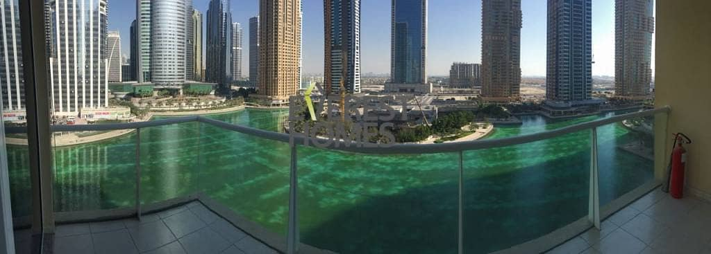 6 1 Bed with Full Lake View - 2 Balconies in Lake View Tower JLT