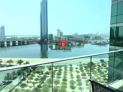 شقة 2 غرفة نوم للايجار في دبي فيستيفال سيتي، دبي - No Commission | 1 Month free | Full Creek View | Free Maintenance