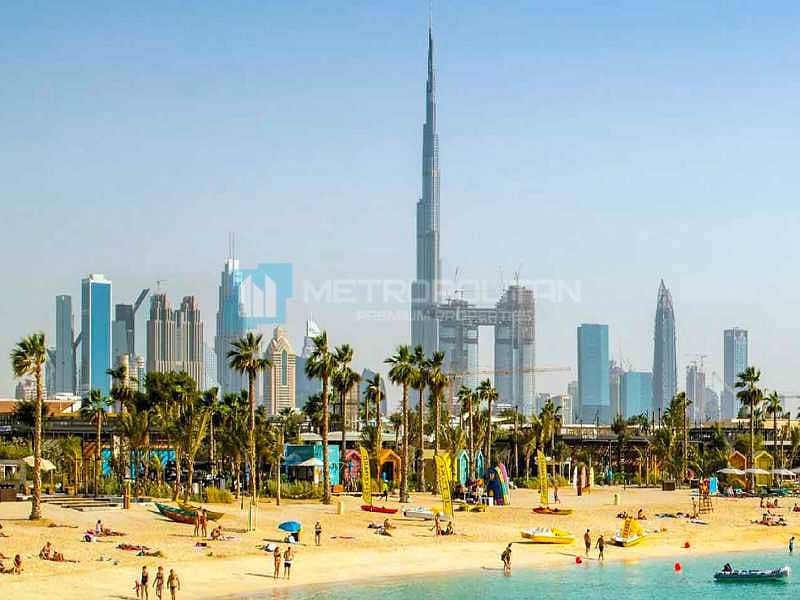 Rare resale | Full Burj and sea view | Big size