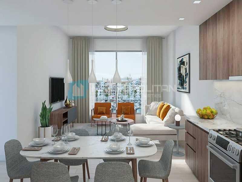 2 Rare resale | Full Burj and sea view | Big size
