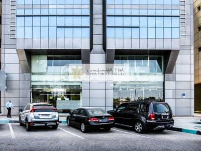 معرض تجاري  للايجار في شارع الكورنيش، أبوظبي - CORNICHE ROAD ABU DHABI - Direct from Landlord - Spectacular Showroom + full M floor