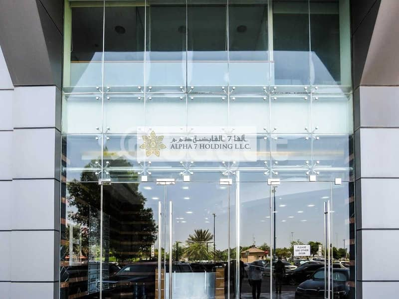 2 CORNICHE ROAD ABU DHABI - Direct from Landlord - Spectacular Showroom + full M floor