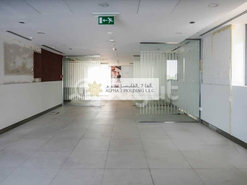 14 CORNICHE ROAD ABU DHABI - Direct from Landlord - Spectacular Showroom + full M floor
